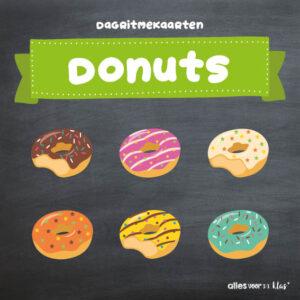 Dagritmekaarten Donuts
