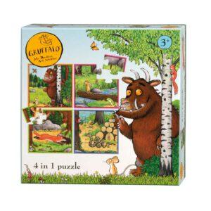 Gruffalo 4 puzzels