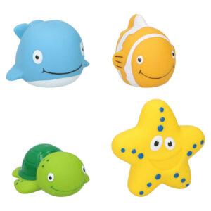 Zeedieren 4 stuks