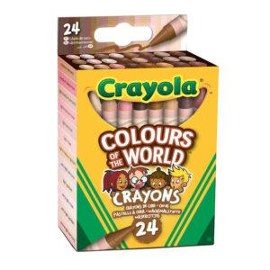Waskrijtjes Colours of the world