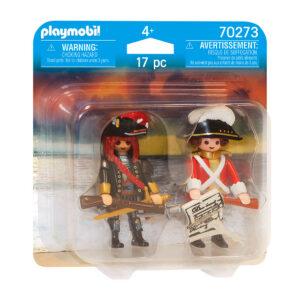 Playmobil piraat en soldaat
