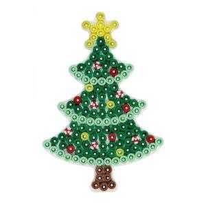 Strijkkralenbord kerstboom
